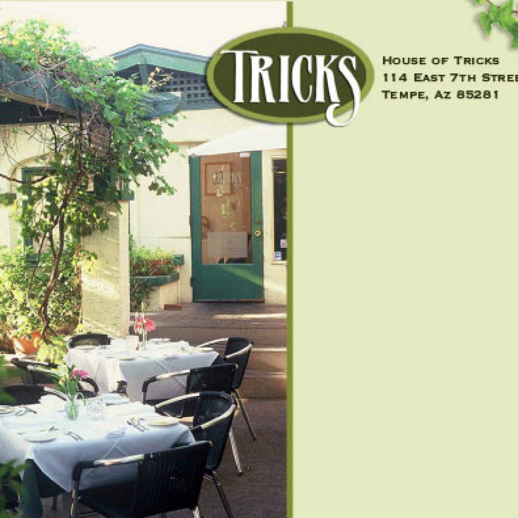 House of Tricks Event Mailer